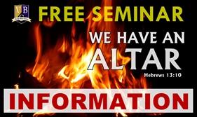 Seminar Info/Registration
